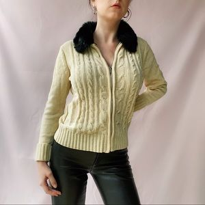 Vintage Chenille Cardigan